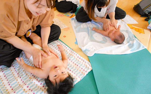 保育室の子ども